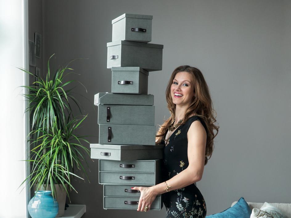 Förvaringsdrottningen Paulina Draganja