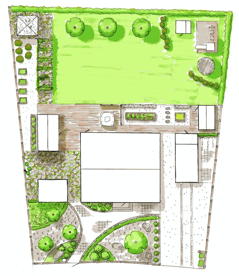 Designa din egen trädgård!